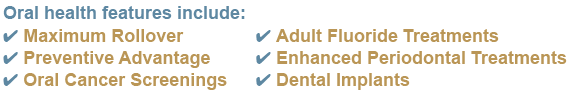 Group Dental Insurance Features