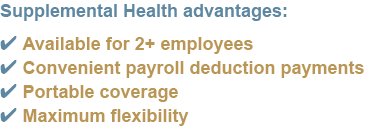 checklist of advantages of supplemental health insurance