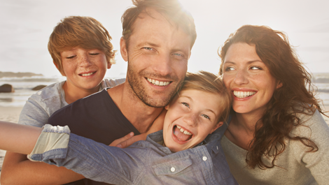 image of family happy to have supplemental health insurance
